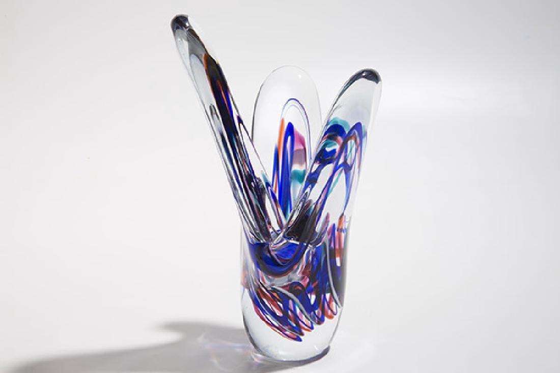 Judi Weilbacher Art Glass Sculpture - 9