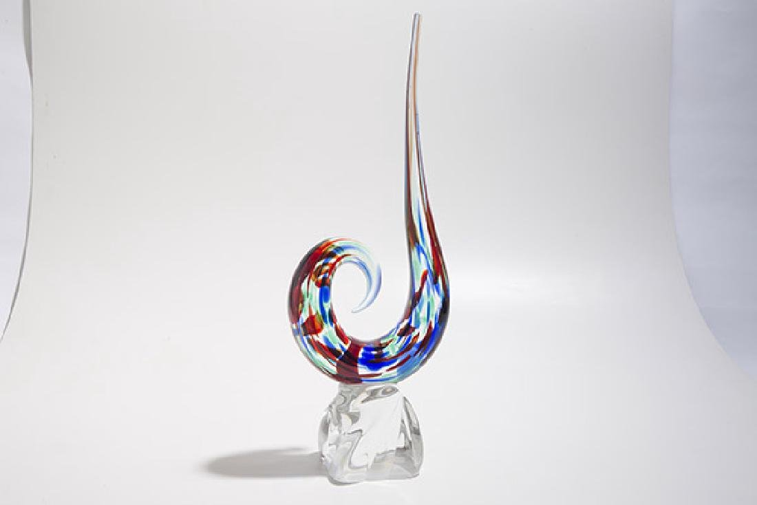 Murano Art Glass Sculpture - 5