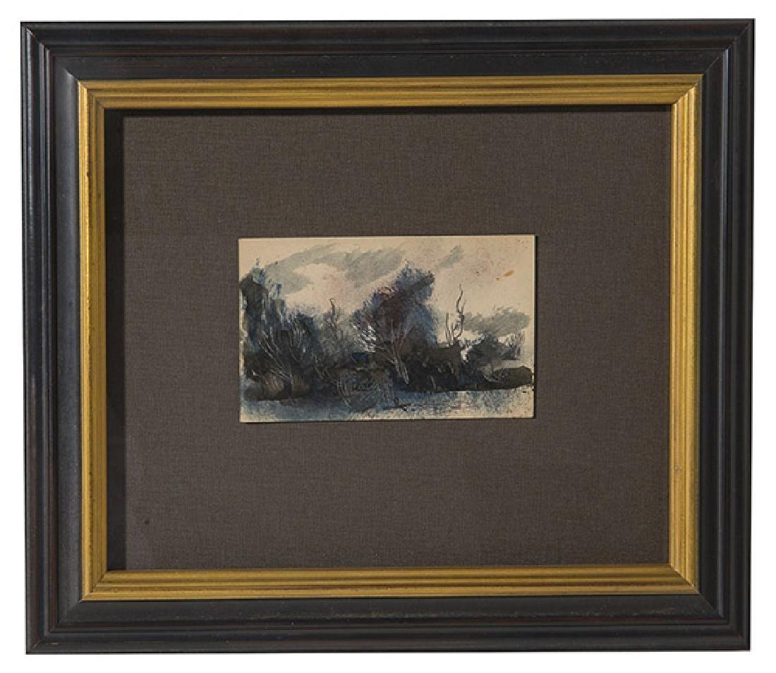Paul Chidlaw (1900-1989) Watercolor (Cincinnati)