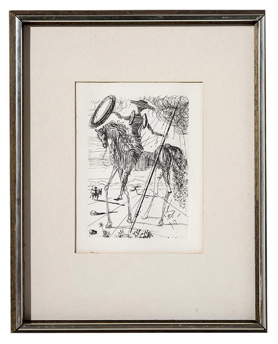 Salvador Dali (1904-1989) Etching, (France, Spain)