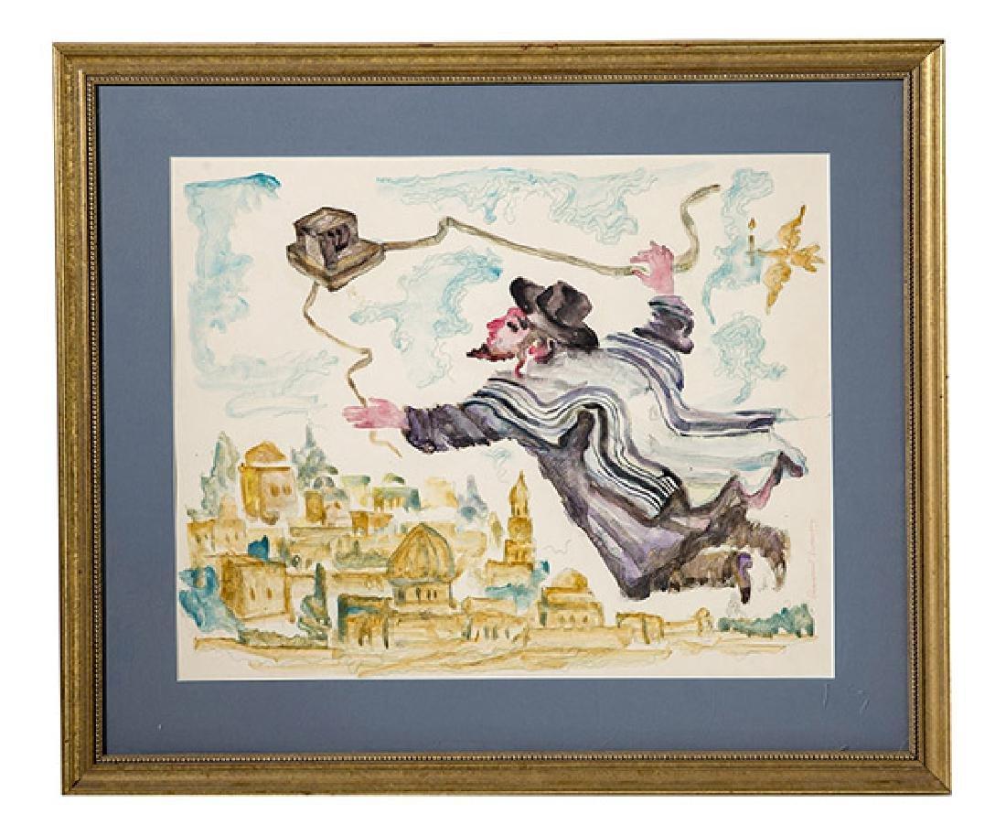 Emmanuel Snitkovsky (Russian Federation) Watercolor