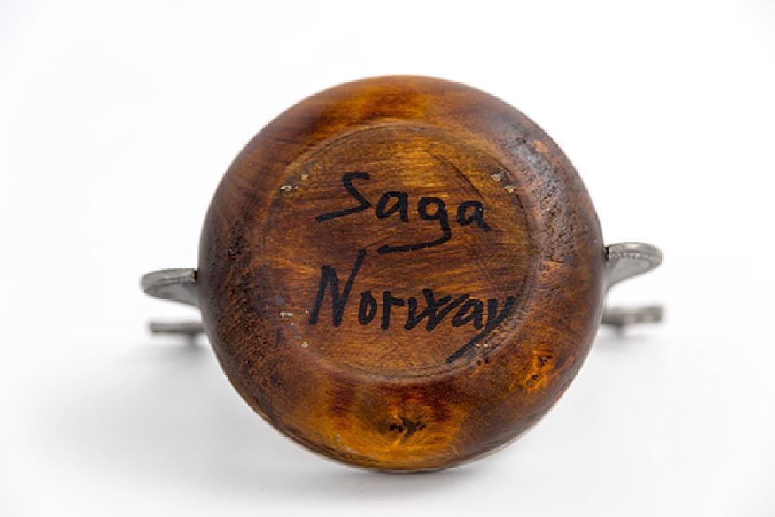 Saga Tinn Drinking Bowl - 4