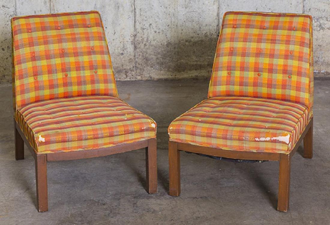Edward Wormley Slipper Chairs