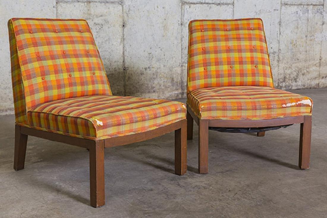Edward Wormley Slipper Chairs - 2