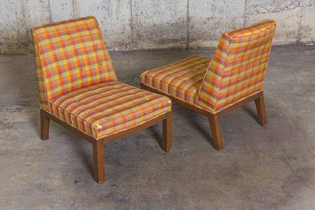 Edward Wormley Slipper Chairs - 9