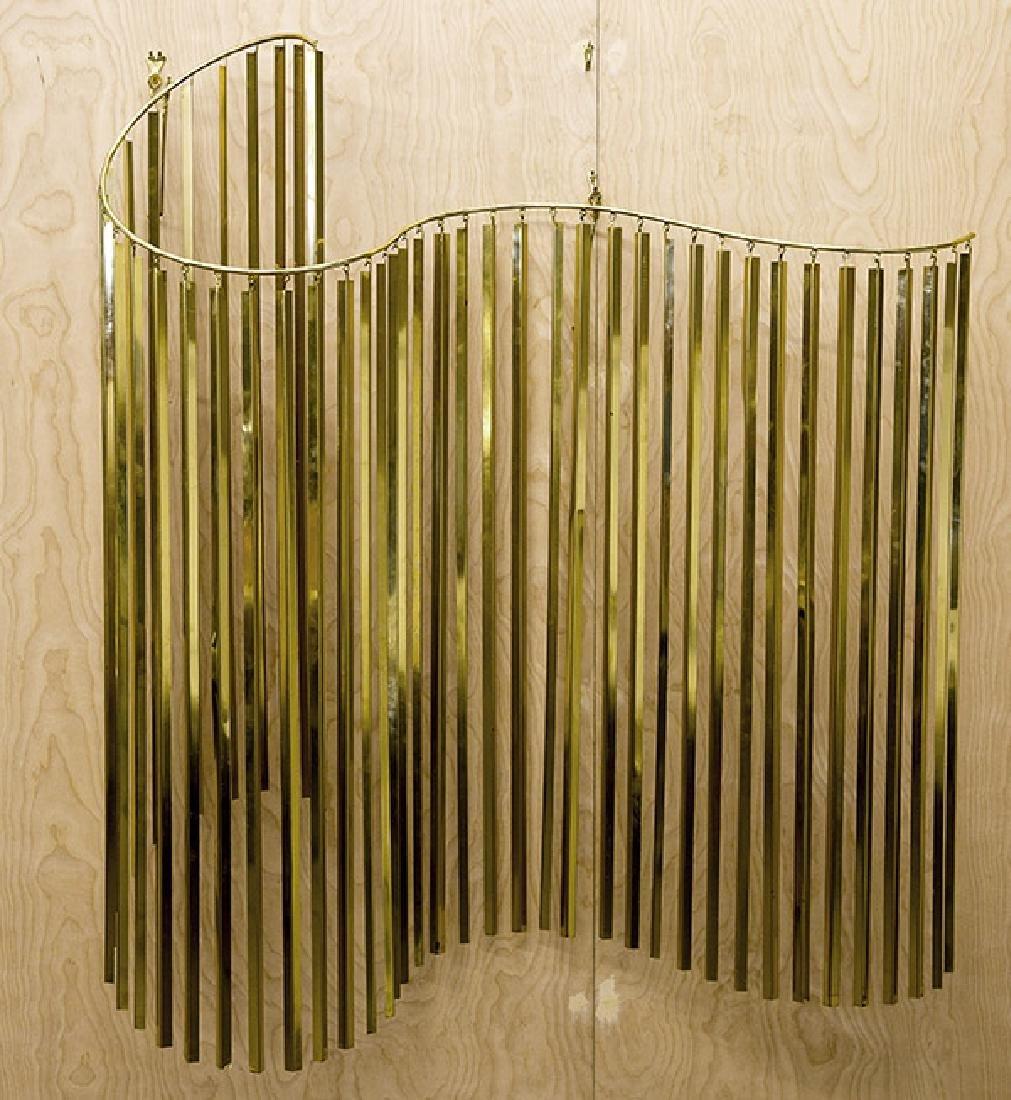 Curtis Jere Kinetic Wave Sculpture