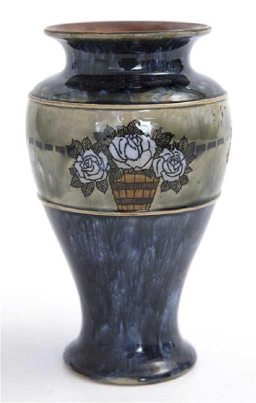 Hannah Barlow Royal Doulton Vase