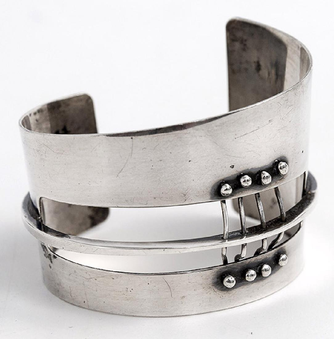 Ed Wiener (1918-1991) Sterling Silver Bracelet