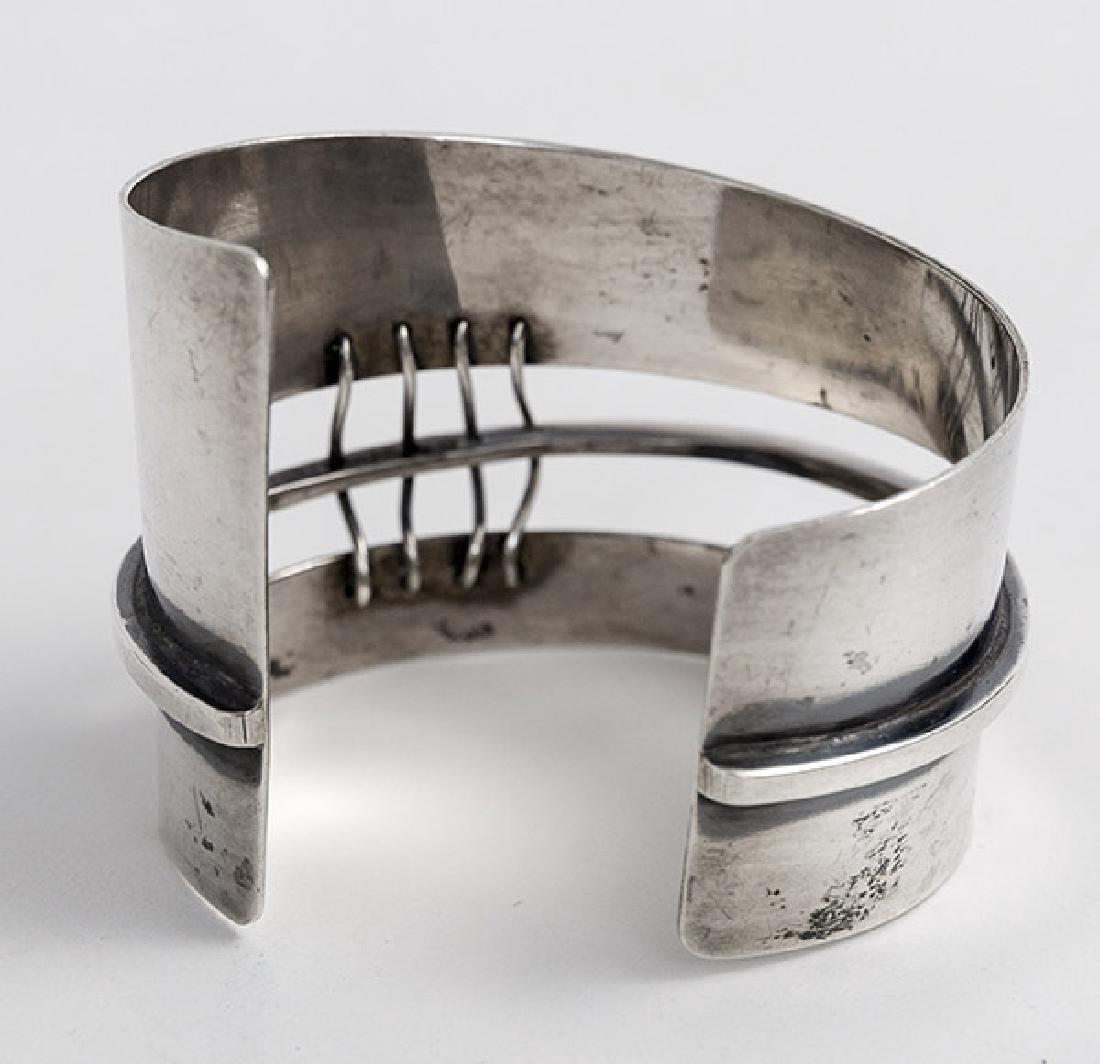 Ed Wiener (1918-1991) Sterling Silver Bracelet - 2