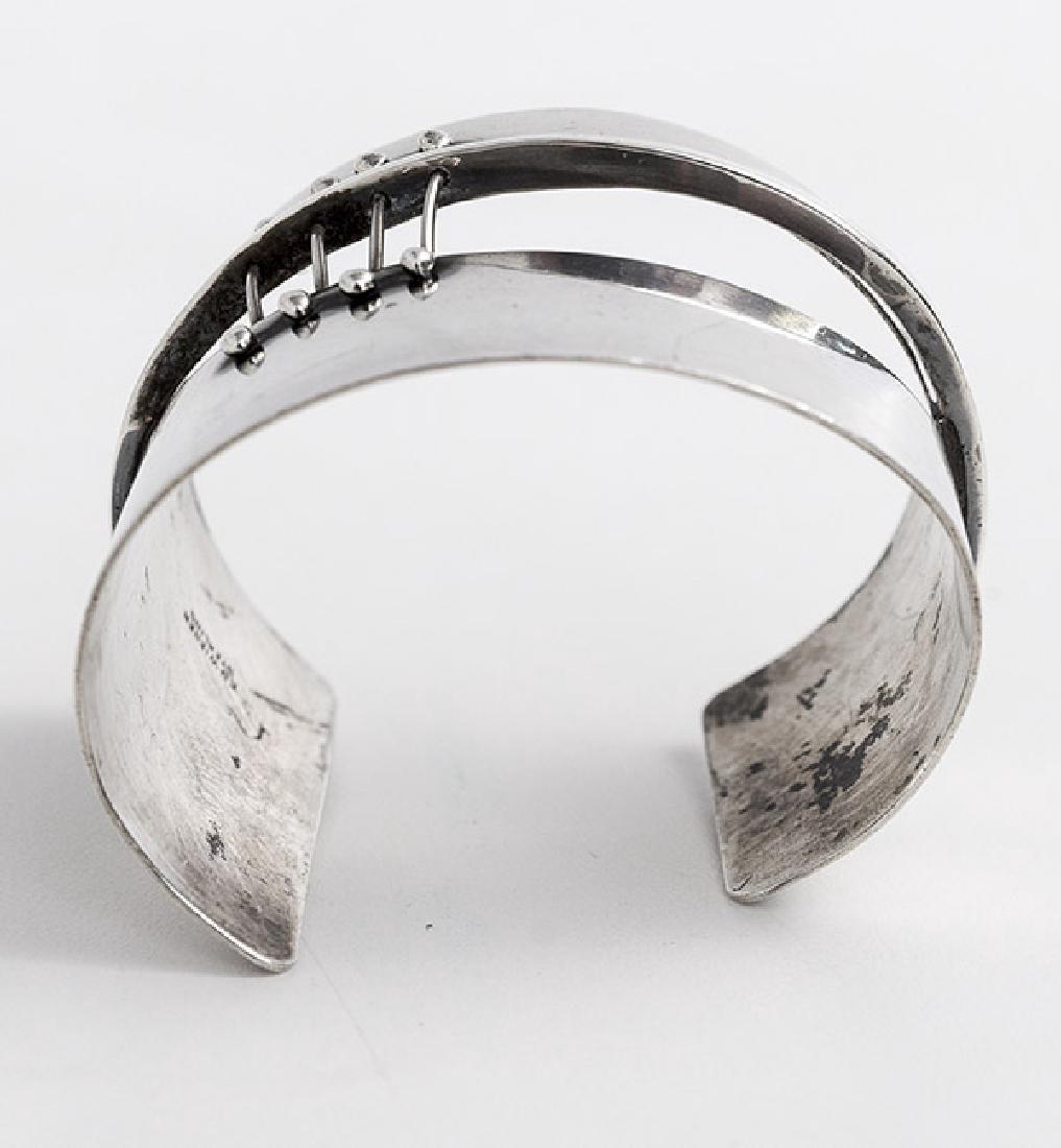 Ed Wiener (1918-1991) Sterling Silver Bracelet - 3