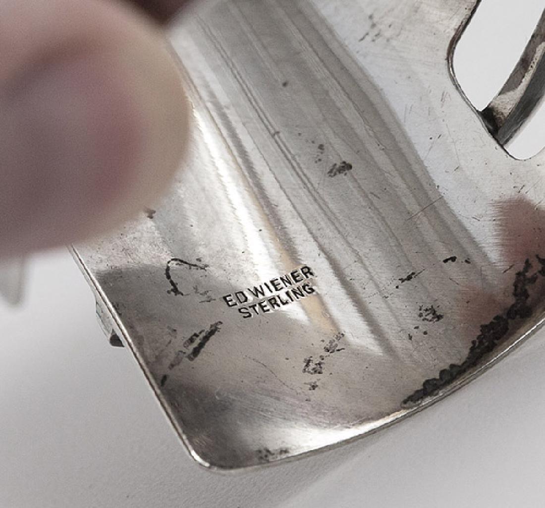 Ed Wiener (1918-1991) Sterling Silver Bracelet - 4