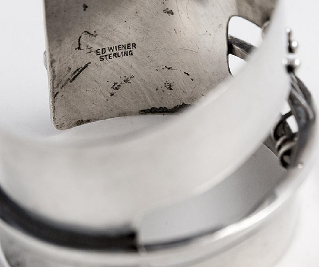Ed Wiener (1918-1991) Sterling Silver Bracelet - 5