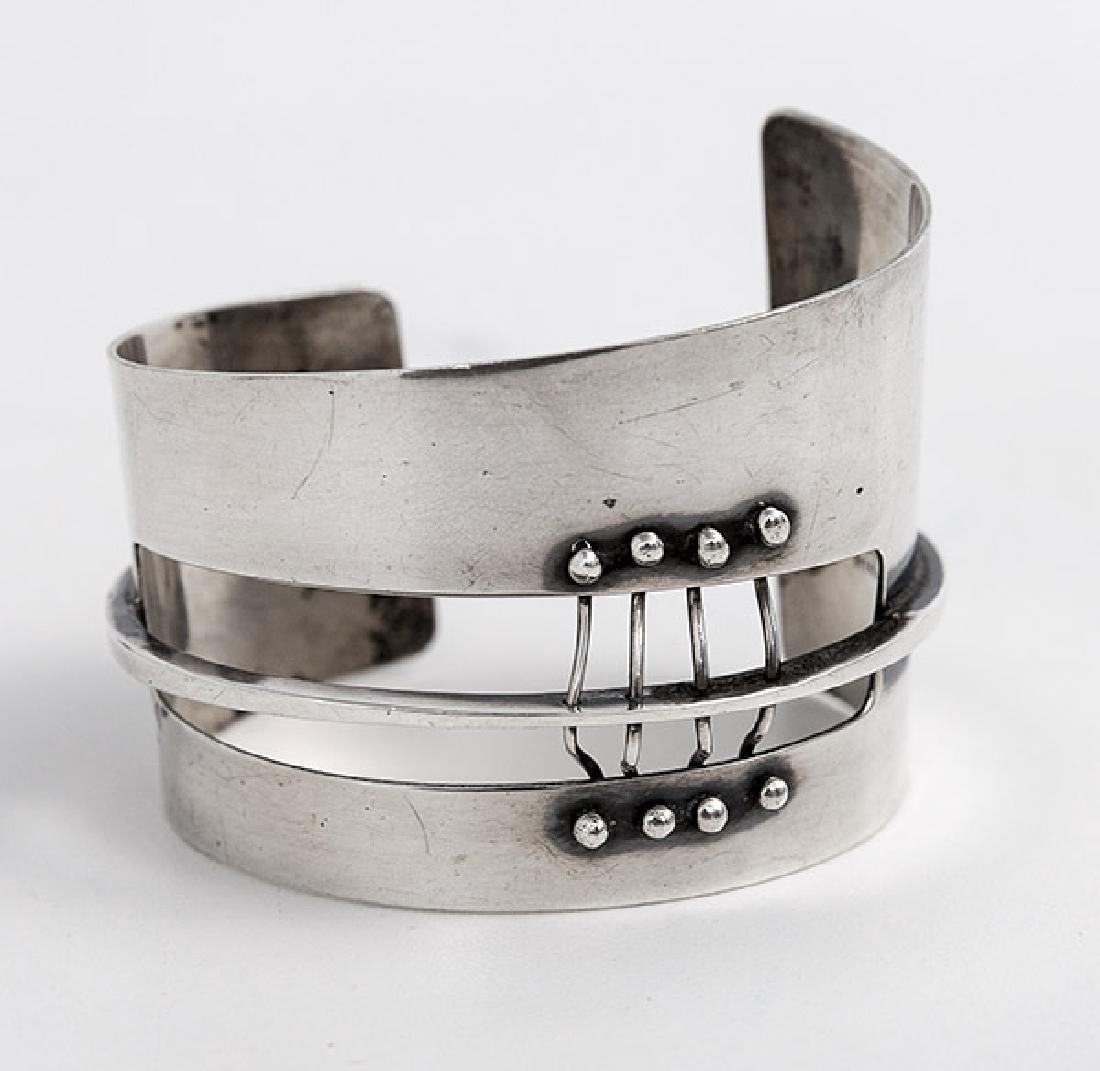 Ed Wiener (1918-1991) Sterling Silver Bracelet - 6