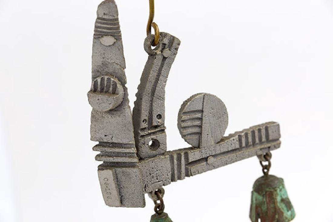 Paolo Soleri Special Assembly Wind Chime - 6
