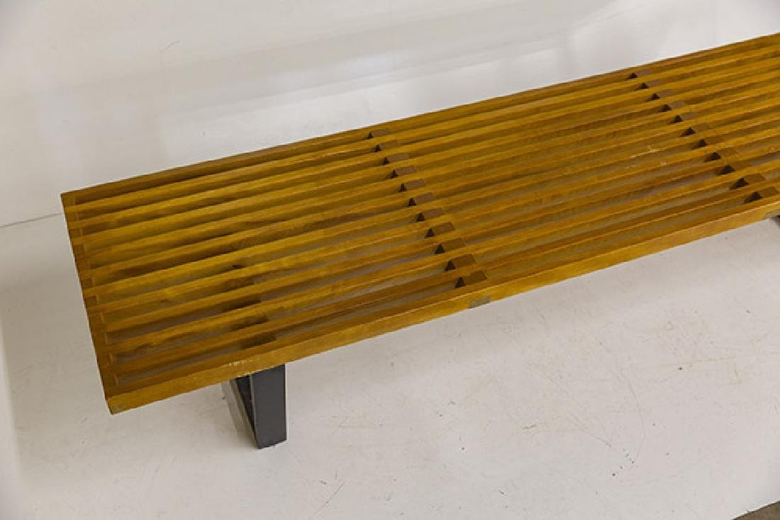 Early George Nelson and Associates Slat Bench - 2