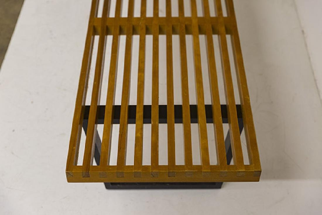 Early George Nelson and Associates Slat Bench - 4