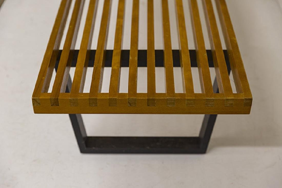 Early George Nelson and Associates Slat Bench - 5