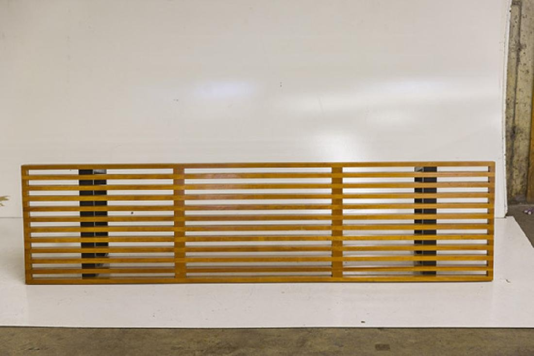 Early George Nelson and Associates Slat Bench - 6