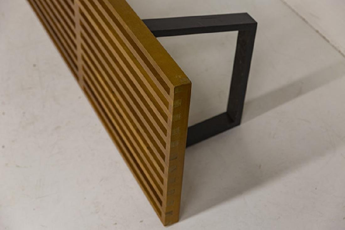 Early George Nelson and Associates Slat Bench - 7