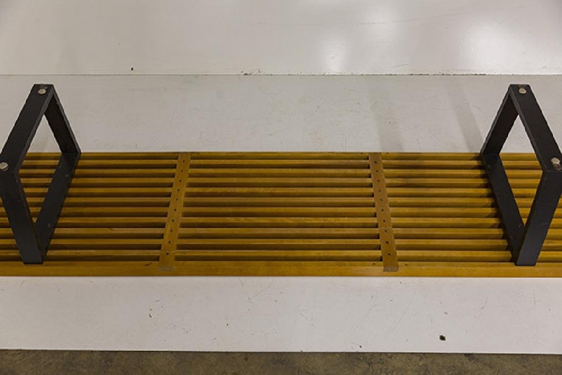 Early George Nelson and Associates Slat Bench - 8