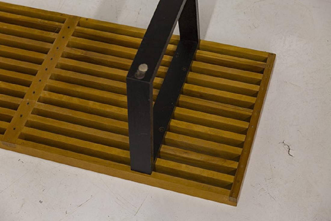 Early George Nelson and Associates Slat Bench - 9
