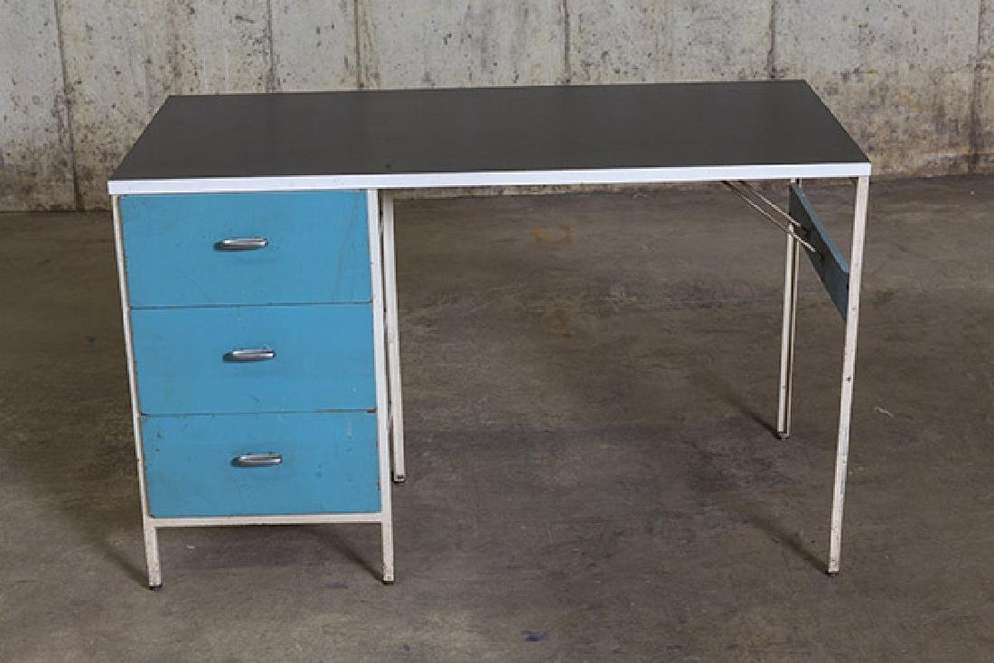 George Nelson and Associates Steel frame Desk - 10