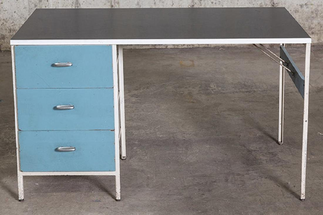 George Nelson and Associates Steel frame Desk