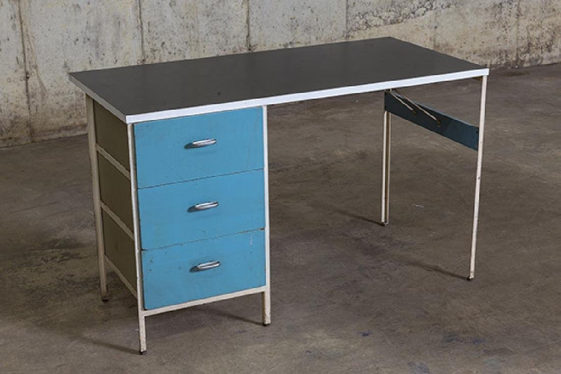 George Nelson and Associates Steel frame Desk - 2