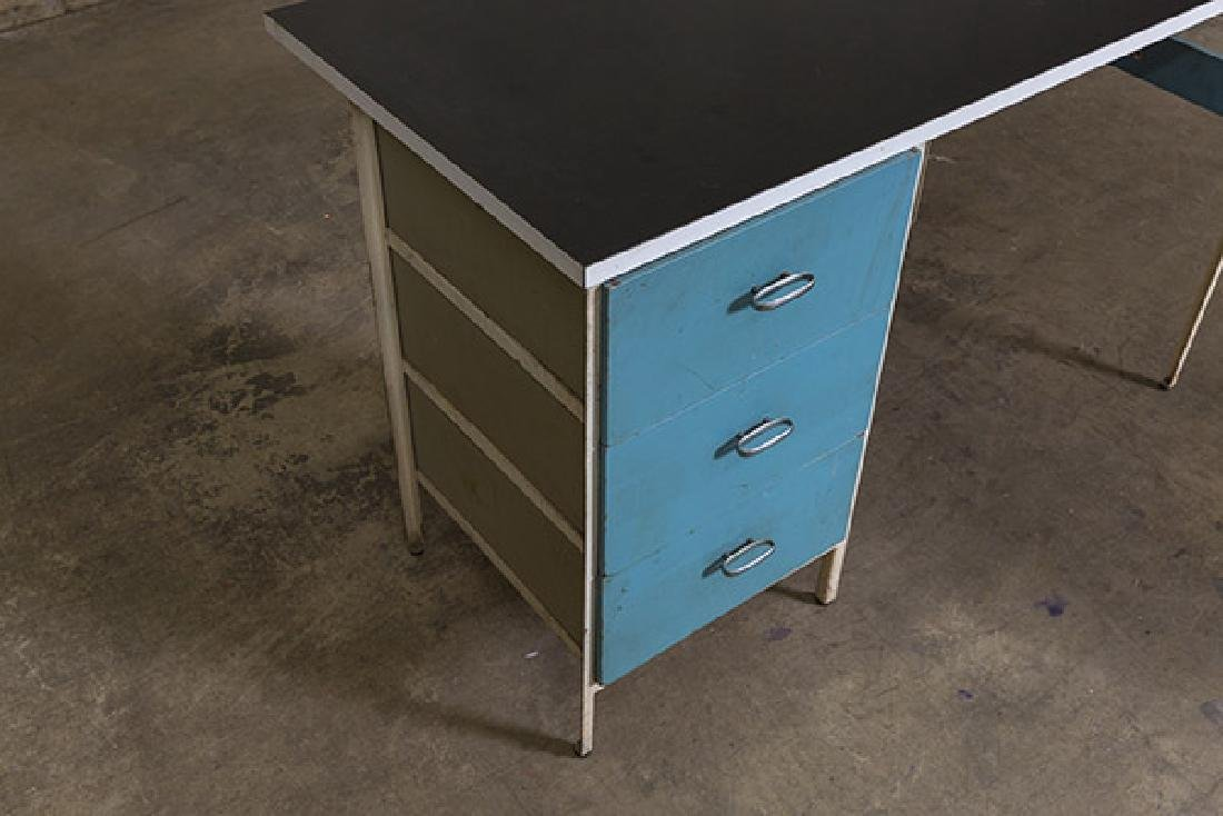 George Nelson and Associates Steel frame Desk - 3