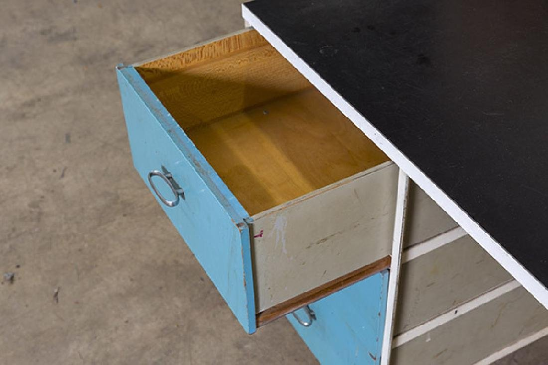 George Nelson and Associates Steel frame Desk - 6