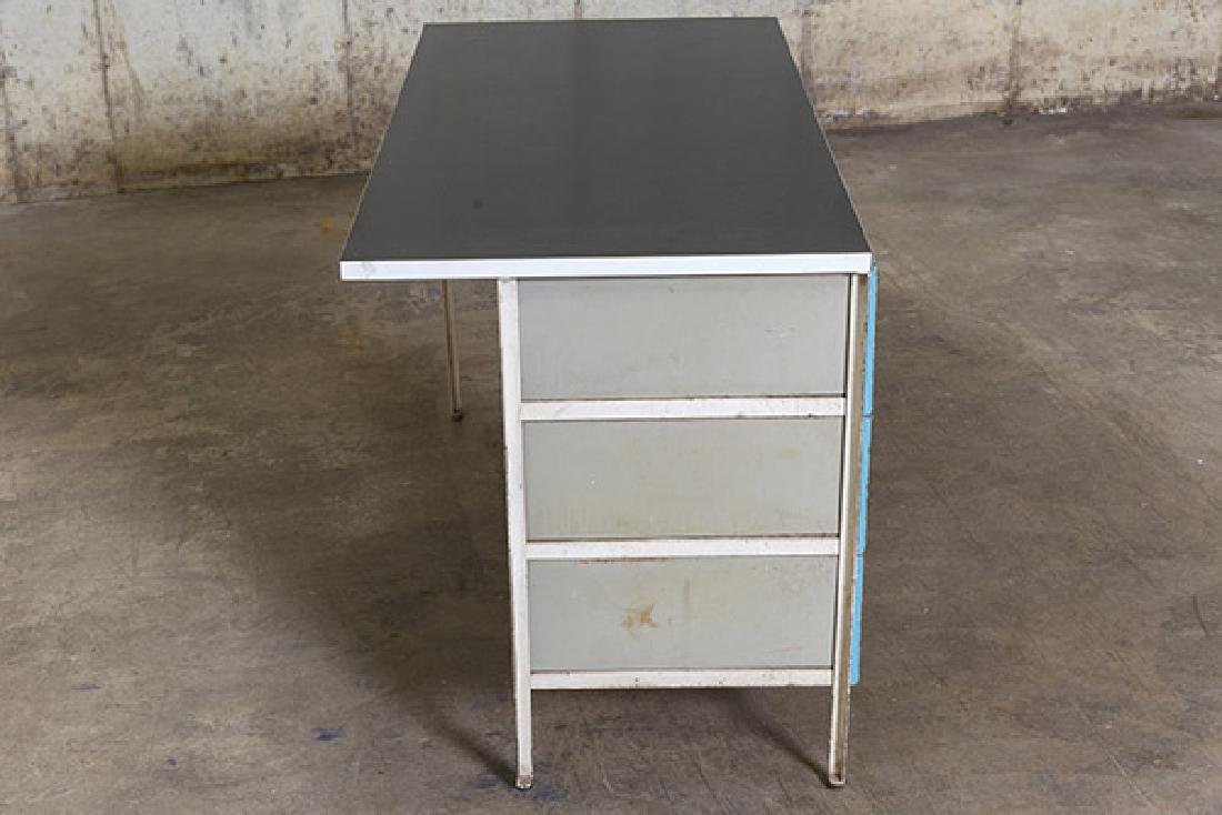 George Nelson and Associates Steel frame Desk - 7
