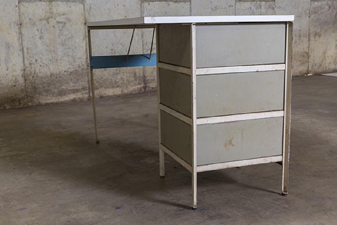 George Nelson and Associates Steel frame Desk - 8