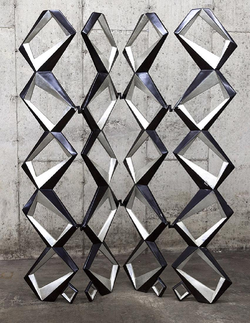 Pop Art Geometric Room Divider