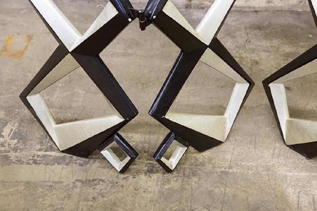 Pop Art Geometric Room Divider - 2
