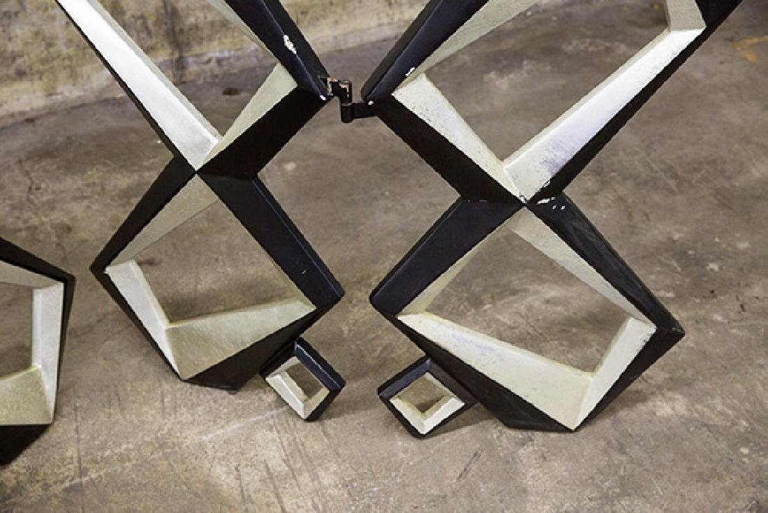 Pop Art Geometric Room Divider - 3