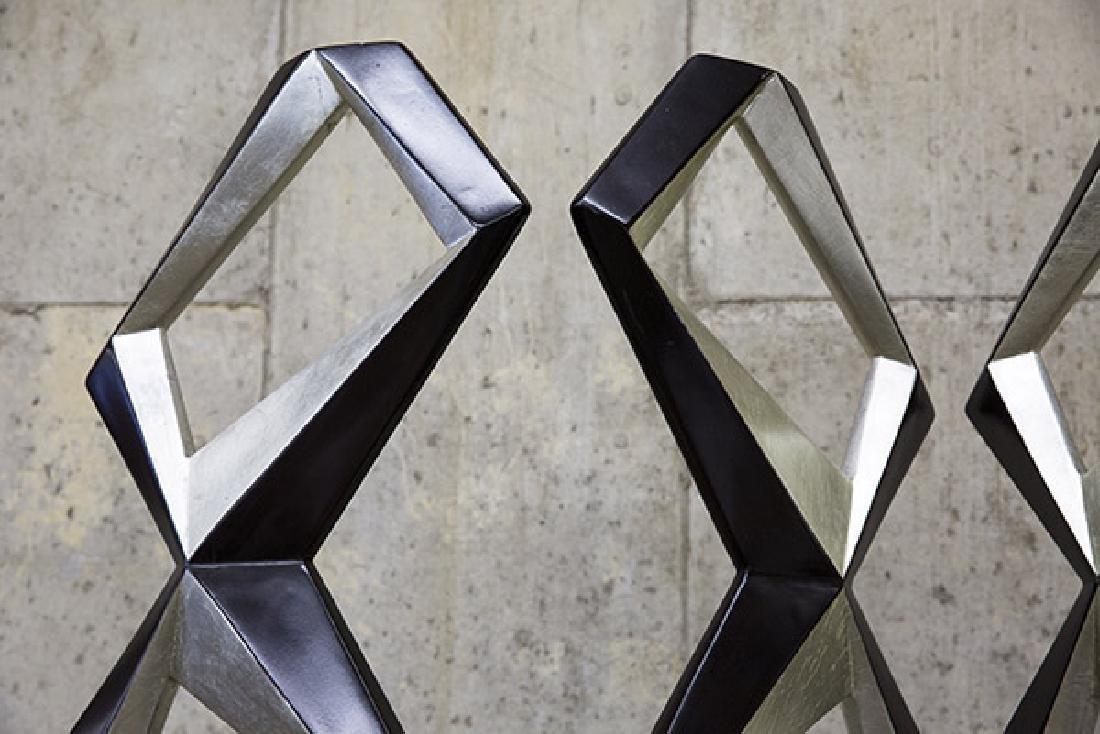 Pop Art Geometric Room Divider - 4