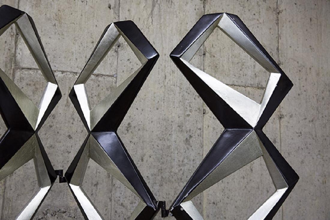 Pop Art Geometric Room Divider - 5