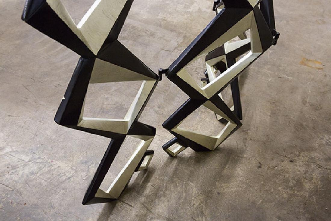Pop Art Geometric Room Divider - 6