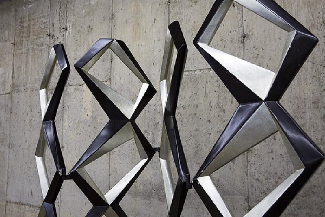 Pop Art Geometric Room Divider - 7