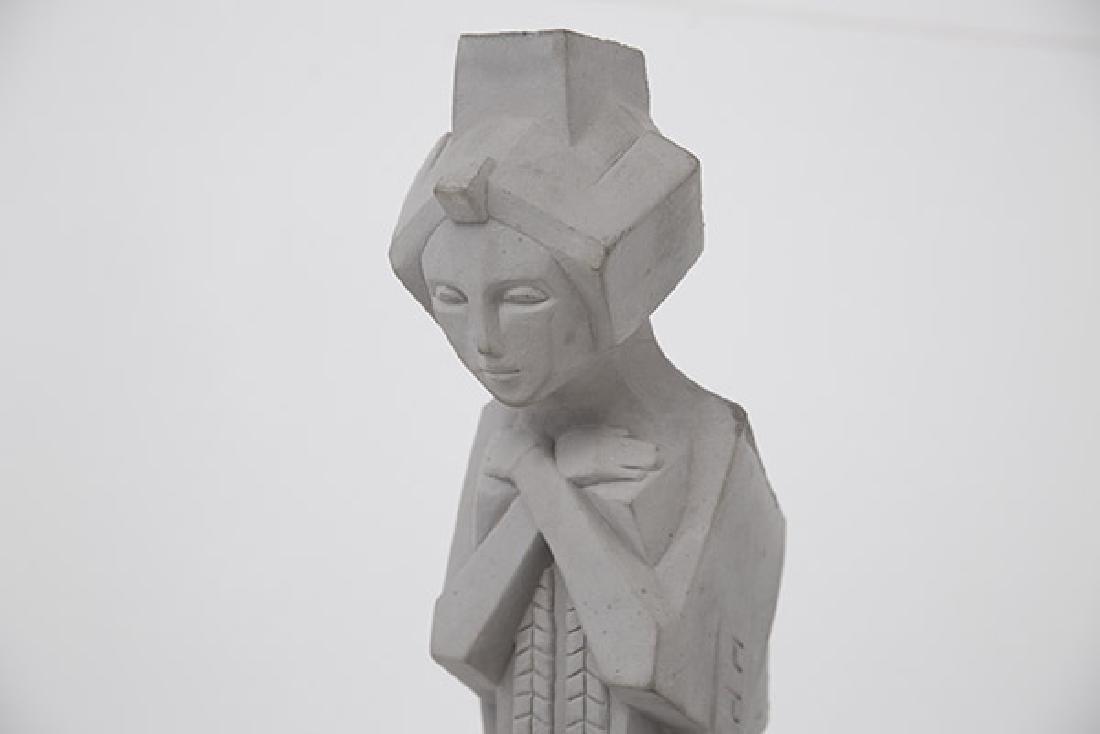 "Frank Lloyd Wright ""Nakoma"" Garden Sculpture - 2"