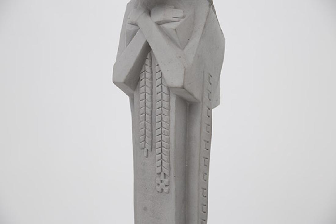 "Frank Lloyd Wright ""Nakoma"" Garden Sculpture - 3"