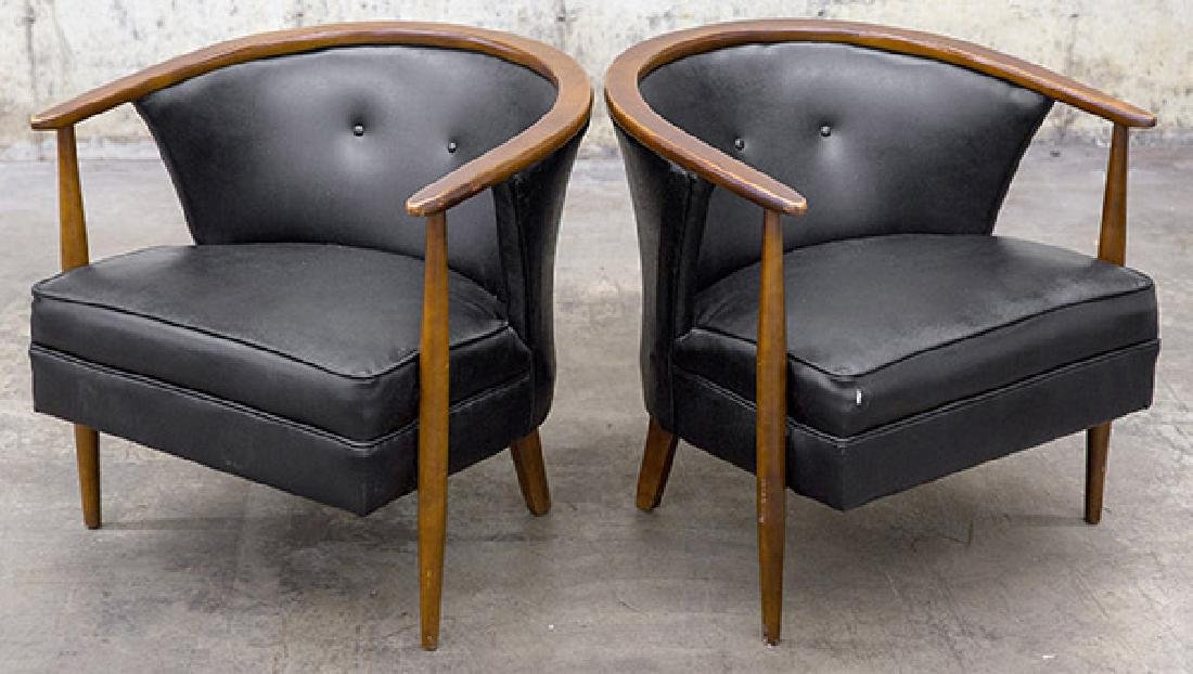 Mid-Century Tub Chairs