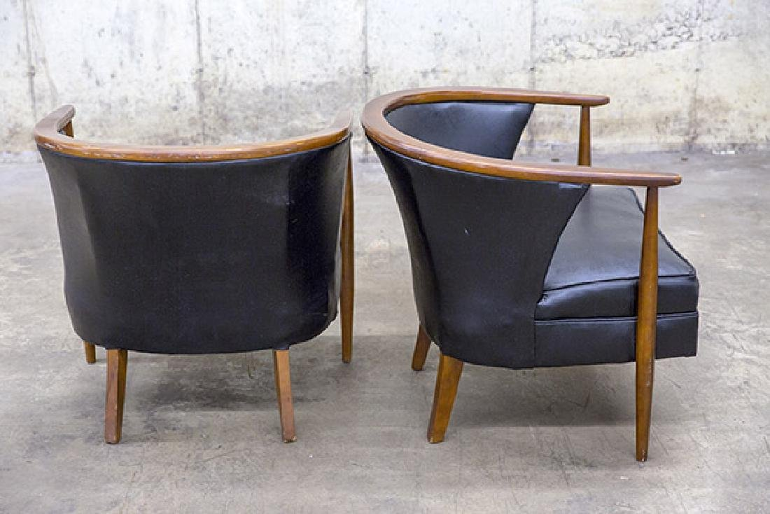 Mid-Century Tub Chairs - 4