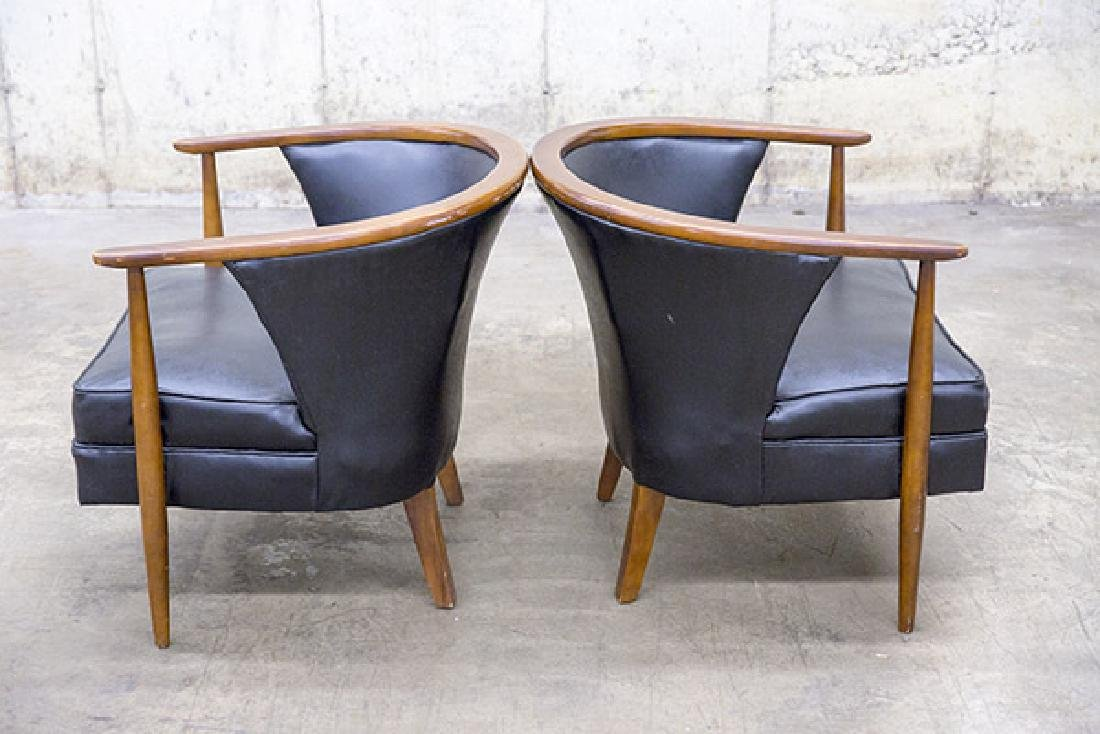 Mid-Century Tub Chairs - 6