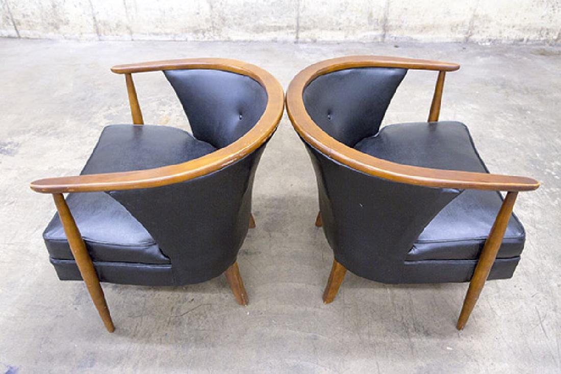 Mid-Century Tub Chairs - 8