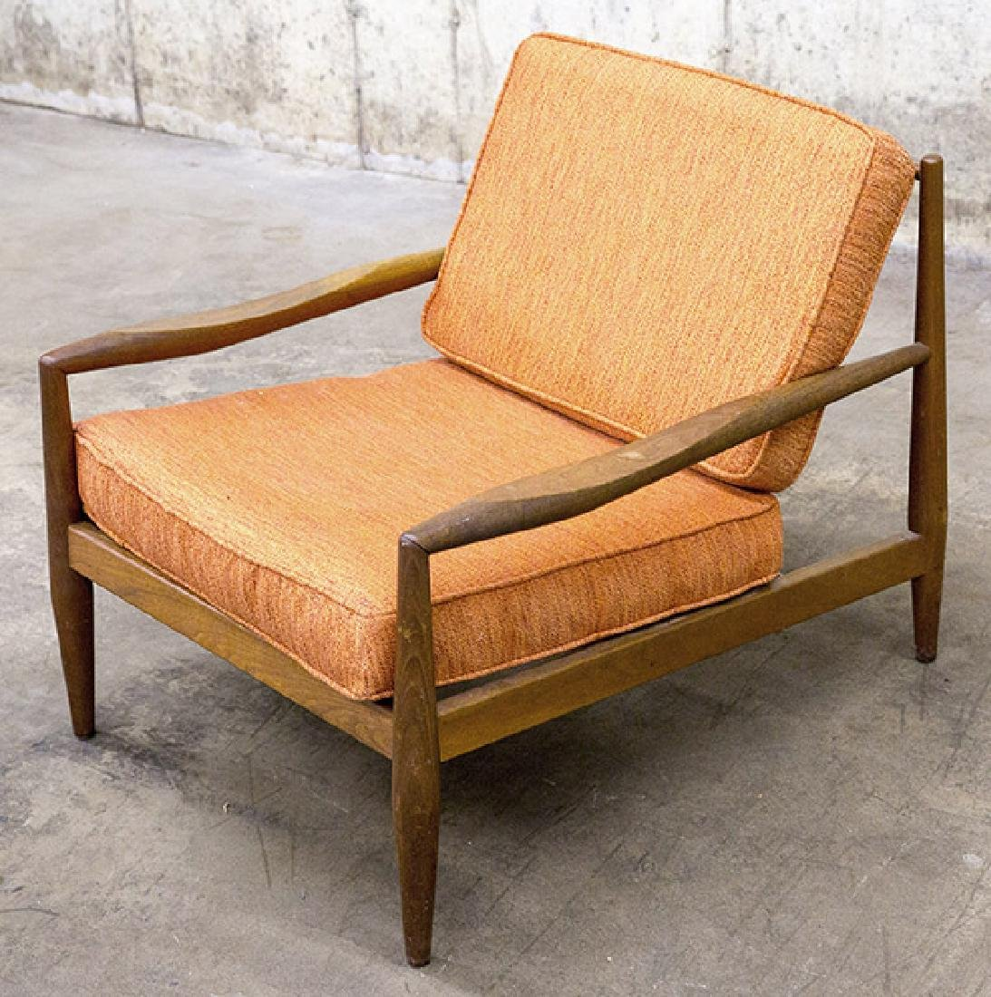 A- Adrian Pearsall Lounge Chair, 1950's