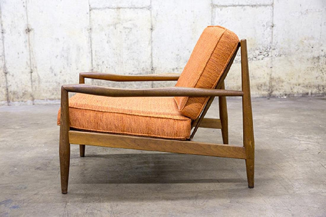 A- Adrian Pearsall Lounge Chair, 1950's - 2