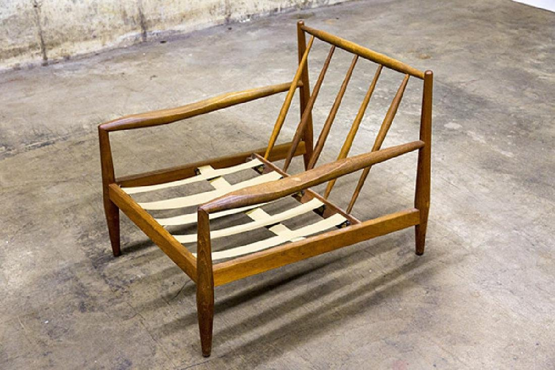 A- Adrian Pearsall Lounge Chair, 1950's - 4
