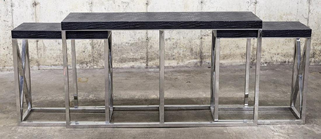Sarried Nesting Console tables
