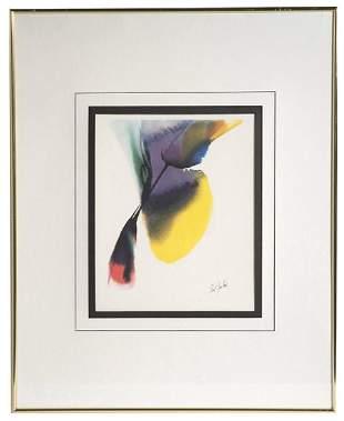 Paul Jenkins (New York/Kansas) Offset Lithograph